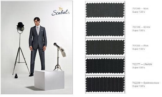 Spring & Summer Fabrics - English & British Suit Fabrics - Savile ...